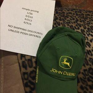 John Deere owners edition hat